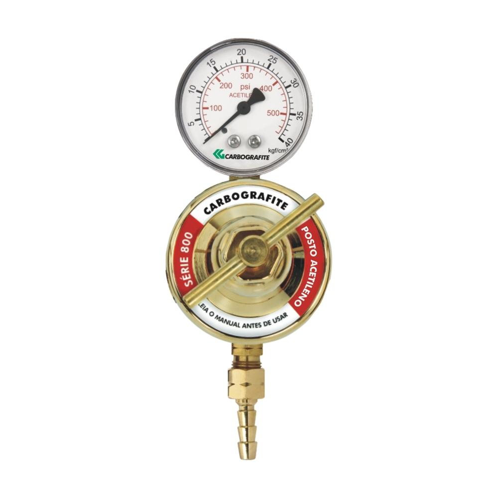 Regulador de Pressão Argônio - para Posto | Série 800