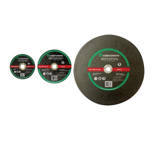 Disco de Corte CG-C - Aço Carbono e Metais