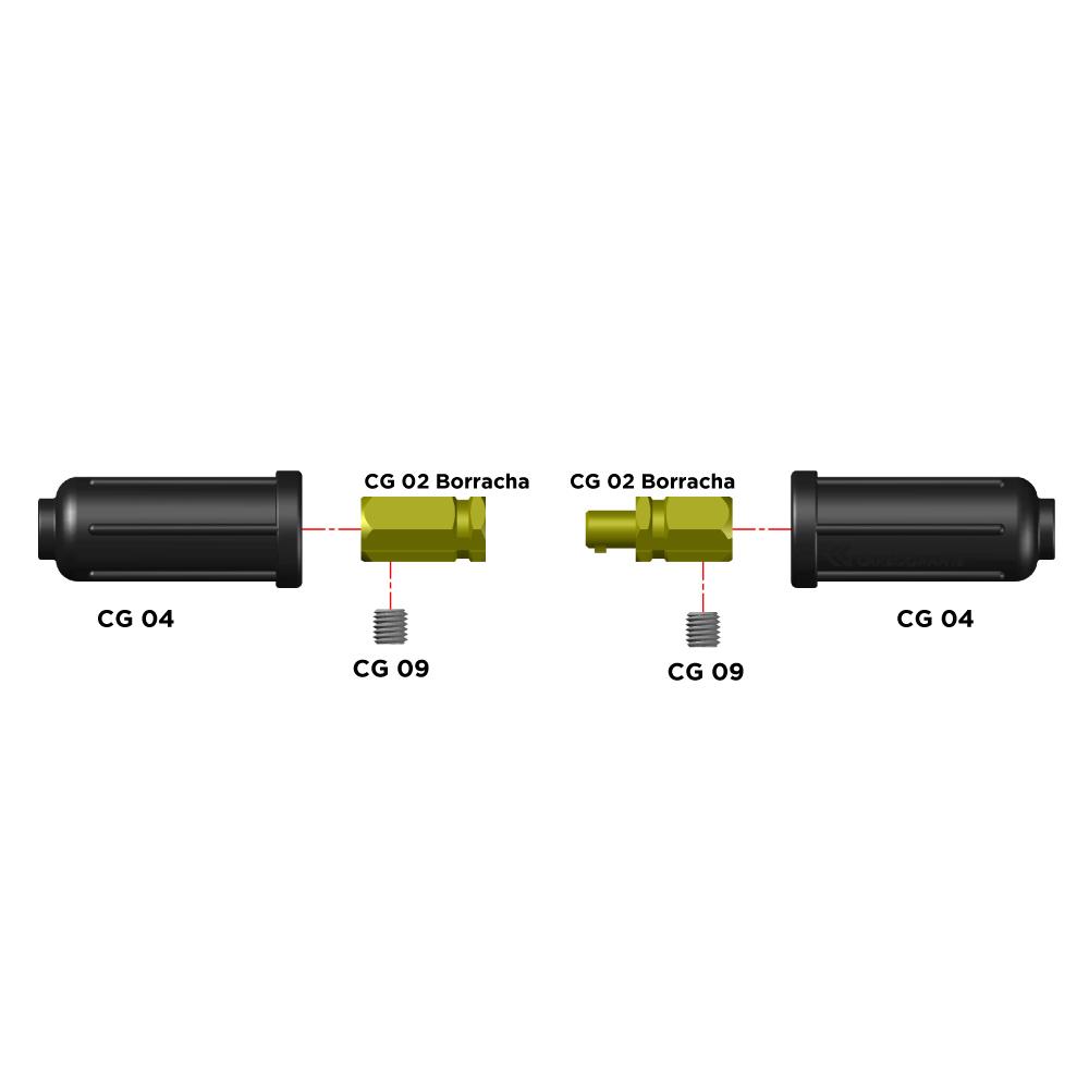 Peças de Reposição para Conector CG500 Borracha