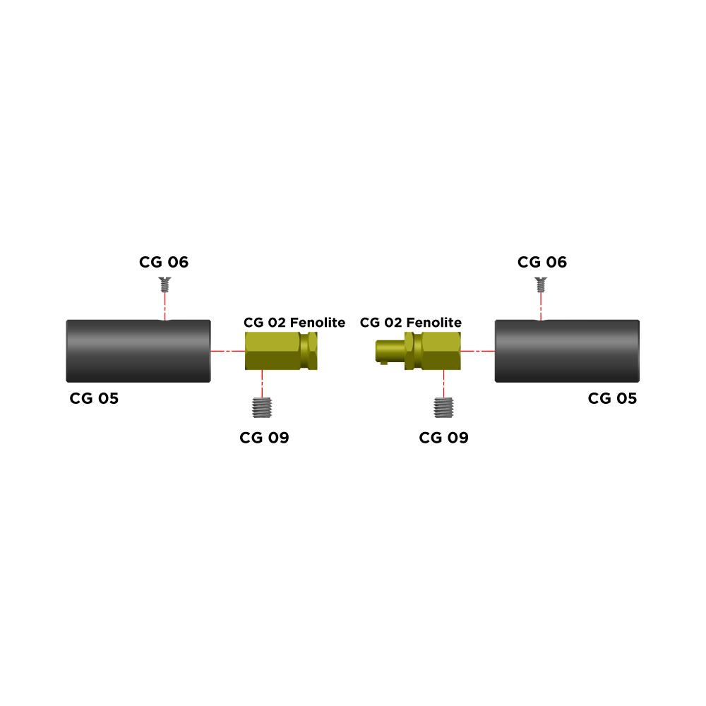 Peças de Reposição para Conector CG500 Fenolite