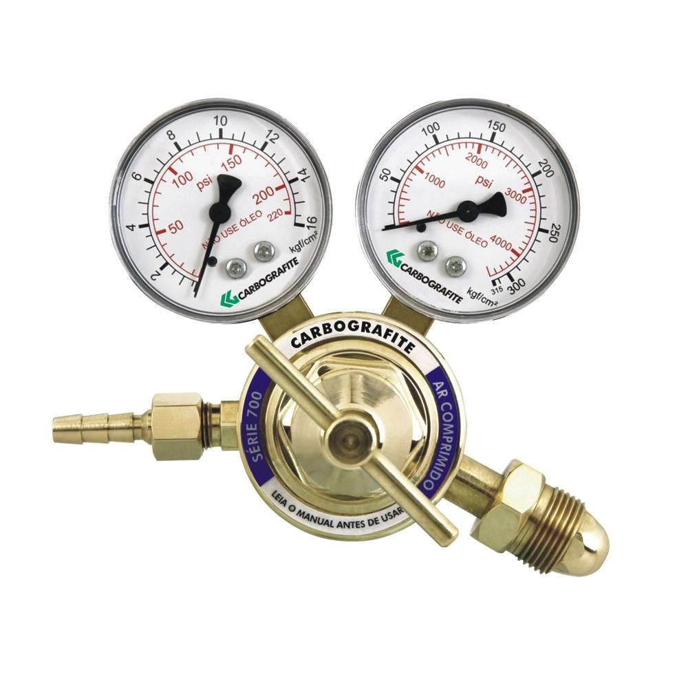 Regulador de Pressão Ar Comprimido - Cilindro | Série 700