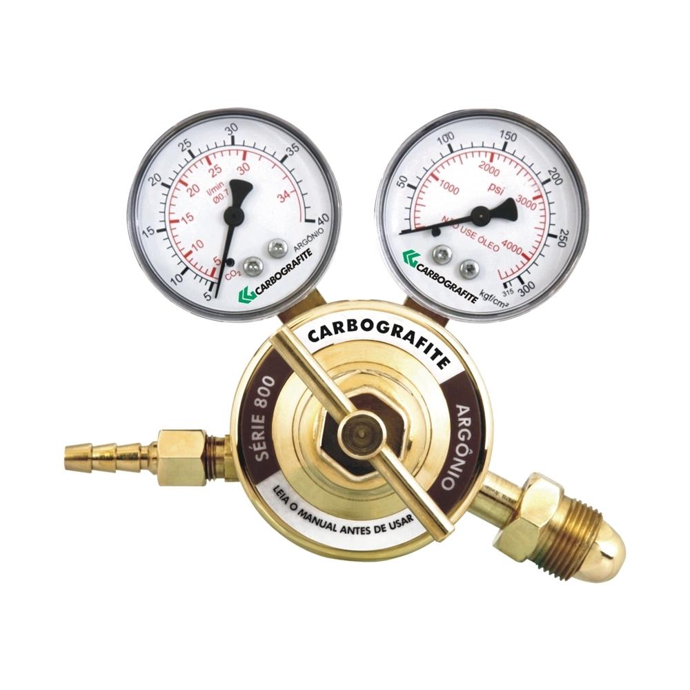 Regulador de Pressão Argônio - Cilindro | Série 800
