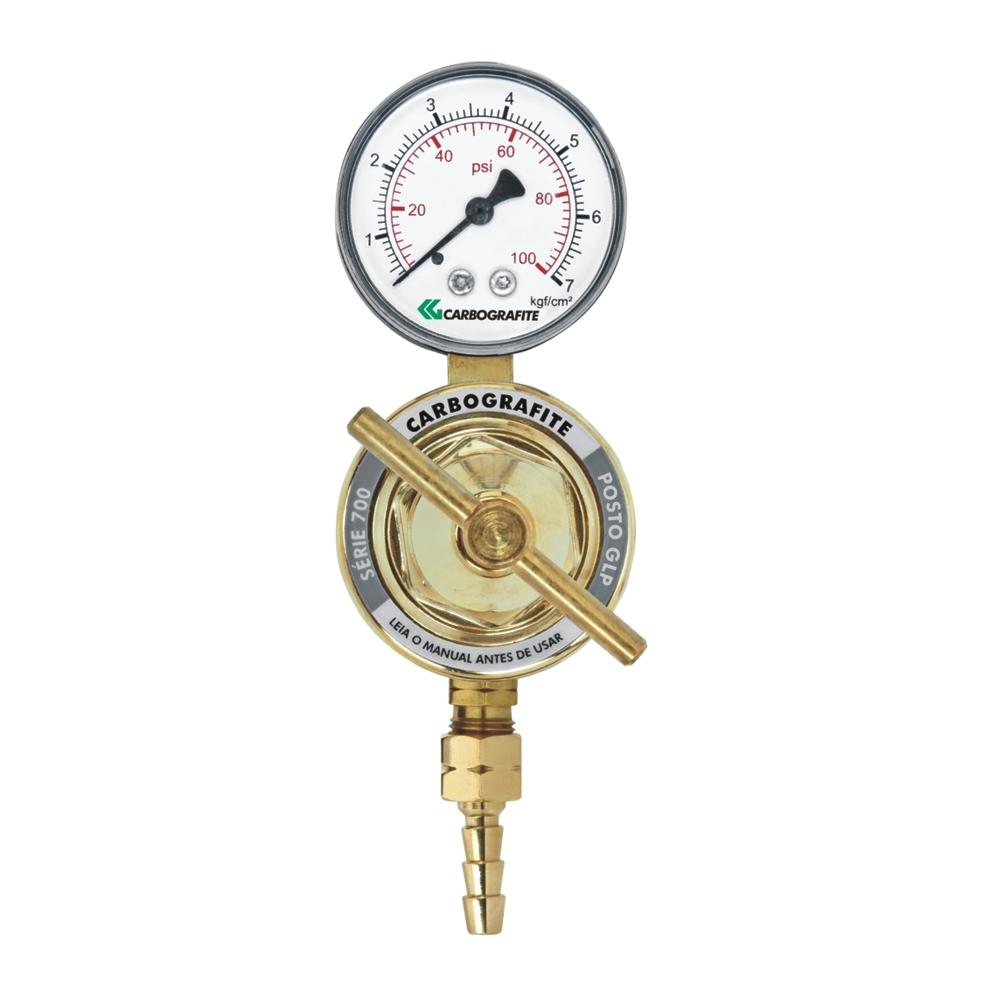Regulador de Pressão GLP/GN - para Posto | Série 700