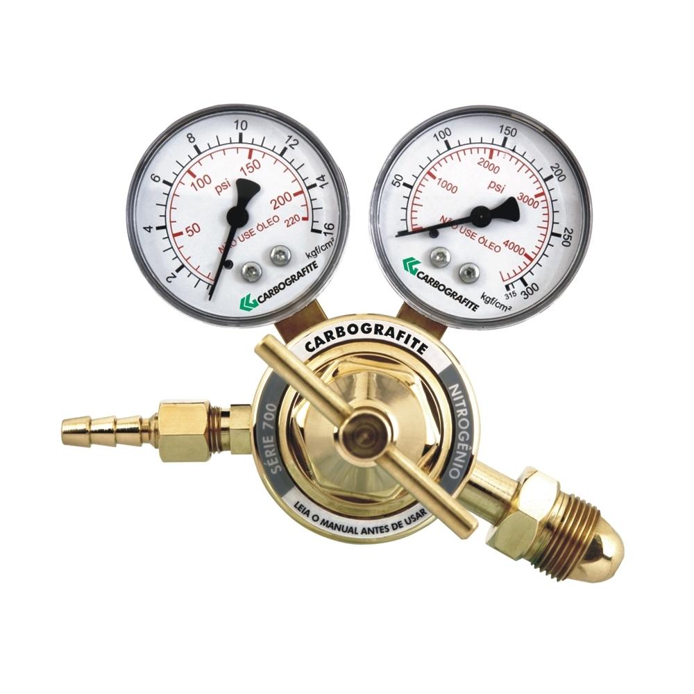 Regulador de Pressão Nitrogênio - Cilindro | Série 700