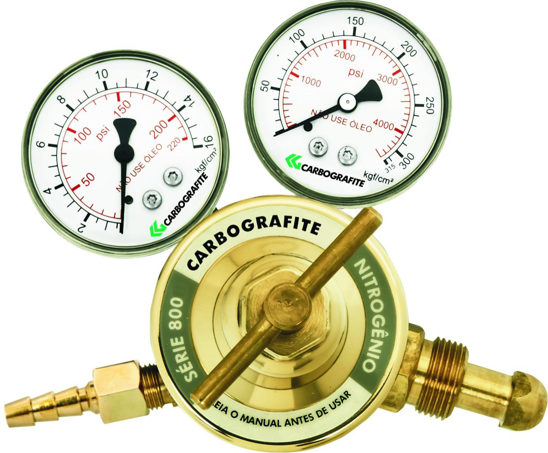 Regulador de Pressão Nitrogênio - Cilindro | Série 800